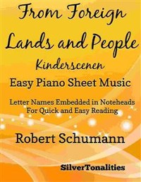 Cover From Foreign Lands and People Kinderscenen Easy Piano Sheet Music