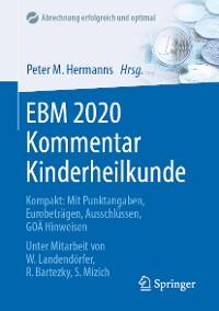 Cover EBM 2020 Kommentar Kinderheilkunde