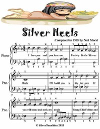 Cover Silver Heels - Easiest Piano Sheet Music Junior Edition