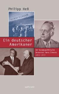 Cover Ein deutscher Amerikaner