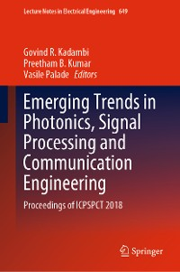 Cover Emerging Trends in Photonics, Signal Processing and Communication Engineering
