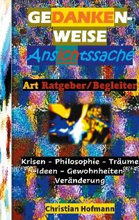 Cover GEDANKENWEISE - ANSICHTSSACHE