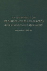 Cover Introduction to Differentiable Manifolds and Riemannian Geometry