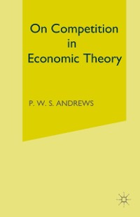 Cover On Competition in Economic Theory