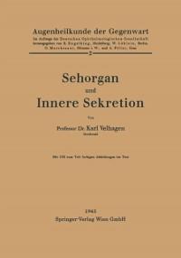 Cover Sehorgan und Innere Sekretion
