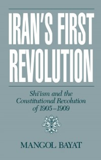 Cover Iran's First Revolution