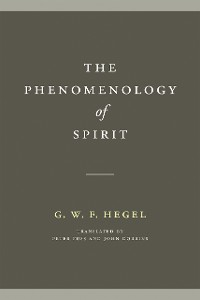 Cover The Phenomenology of Spirit
