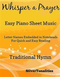 Cover Whisper a Prayer Easy Piano Sheet Music