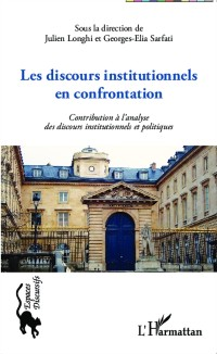 Cover Les discours institutionnels en confrontations