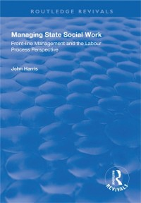 Cover Managing State Social Work