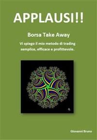 Cover APPLAUSI!! - Borsa take away