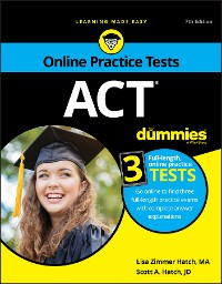 Cover ACT For Dummies
