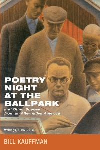 Cover Poetry Night at the Ballpark and Other Scenes from an Alternative America