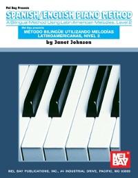 Cover Spanish / English Piano Method Level 2
