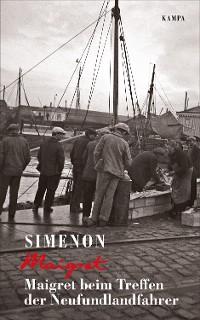 Cover Maigret beim Treffen der Neufundlandfahrer