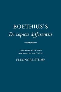 """Cover Boethius's """"De topicis differentiis"""""""