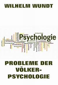 Cover Probleme der Völkerpsychologie