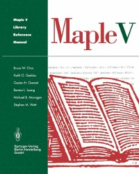 Cover Maple V Library Reference Manual