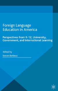 Cover Foreign Language Education in America