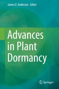 Cover Advances in Plant Dormancy