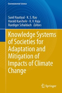 Cover Knowledge Systems of Societies for Adaptation and Mitigation of Impacts of Climate Change