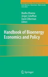 Cover Handbook of Bioenergy Economics and Policy