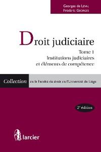 Cover Droit judiciaire