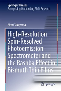 Cover High-Resolution Spin-Resolved Photoemission Spectrometer and the Rashba Effect in Bismuth Thin Films