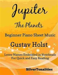 Cover Jupiter the Planets Beginner Piano Sheet Music