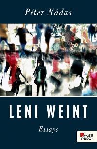 Cover Leni weint