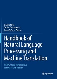 Cover Handbook of Natural Language Processing and Machine Translation