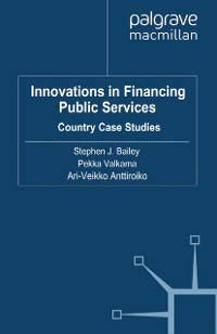 Cover Innovations in Financing Public Services