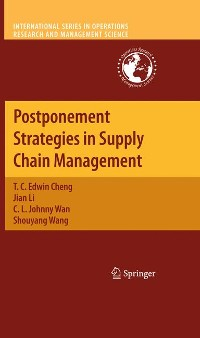 Cover Postponement Strategies in Supply Chain Management