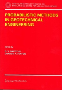 Cover Probabilistic Methods in Geotechnical Engineering
