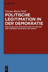 Cover Politische Legitimation in der Demokratie