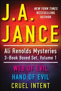 Cover J.A. Jance's Ali Reynolds Mysteries 3-Book Boxed Set, Volume 1
