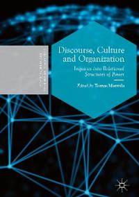 Cover Discourse, Culture and Organization