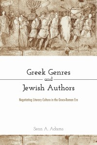 Cover Greek Genres and Jewish Authors