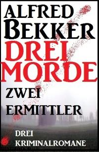 Cover Drei Morde - zwei Ermittler