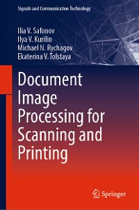 Cover Document Image Processing for Scanning and Printing