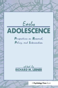 Cover Early Adolescence