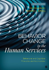 Cover Behavior Change in the Human Services