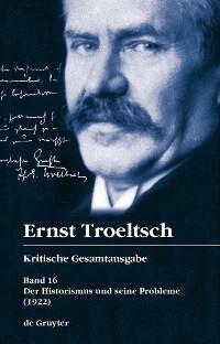 Cover Der Historismus und seine Probleme