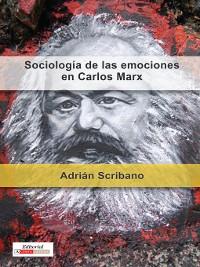 Cover Sociología de las emociones en Carlos Marx