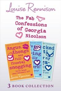 Cover Fab Confessions of Georgia Nicolson: Books 1-3
