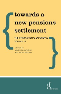 Cover Towards a New Pensions Settlement