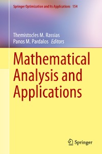 Cover Mathematical Analysis and Applications