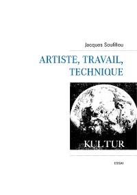 Cover Artiste, travail, technique