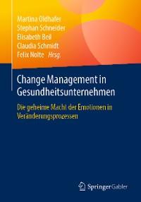 Cover Change Management in Gesundheitsunternehmen