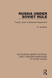 Cover Russia Under Soviet Role